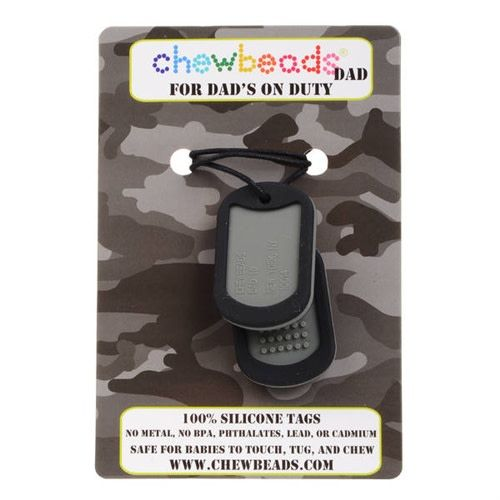 Chewbeads Dad Dog Tags