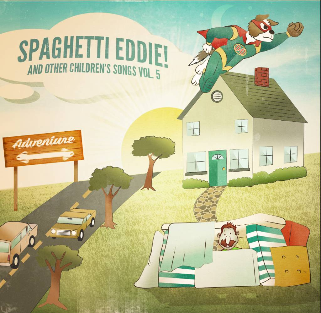 Spaghetti Eddie Children's CD