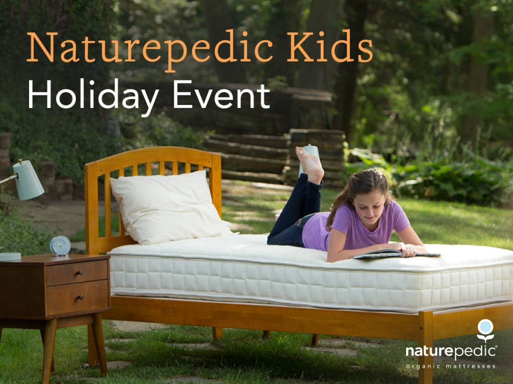 Naturepedic Holiday Promotion