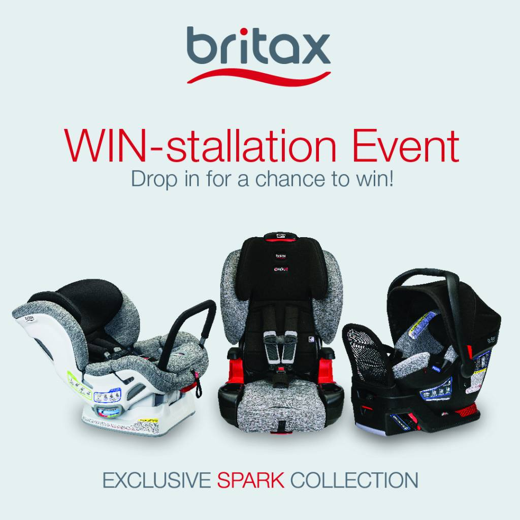 Britax WIN-stallation Event