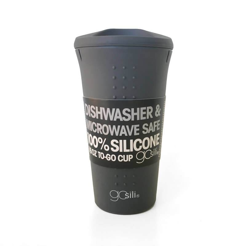 Silikids Gosili To Go Coffee Cup 16 Oz