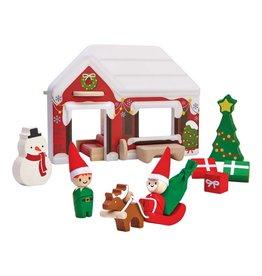 PLANToys Santa's House