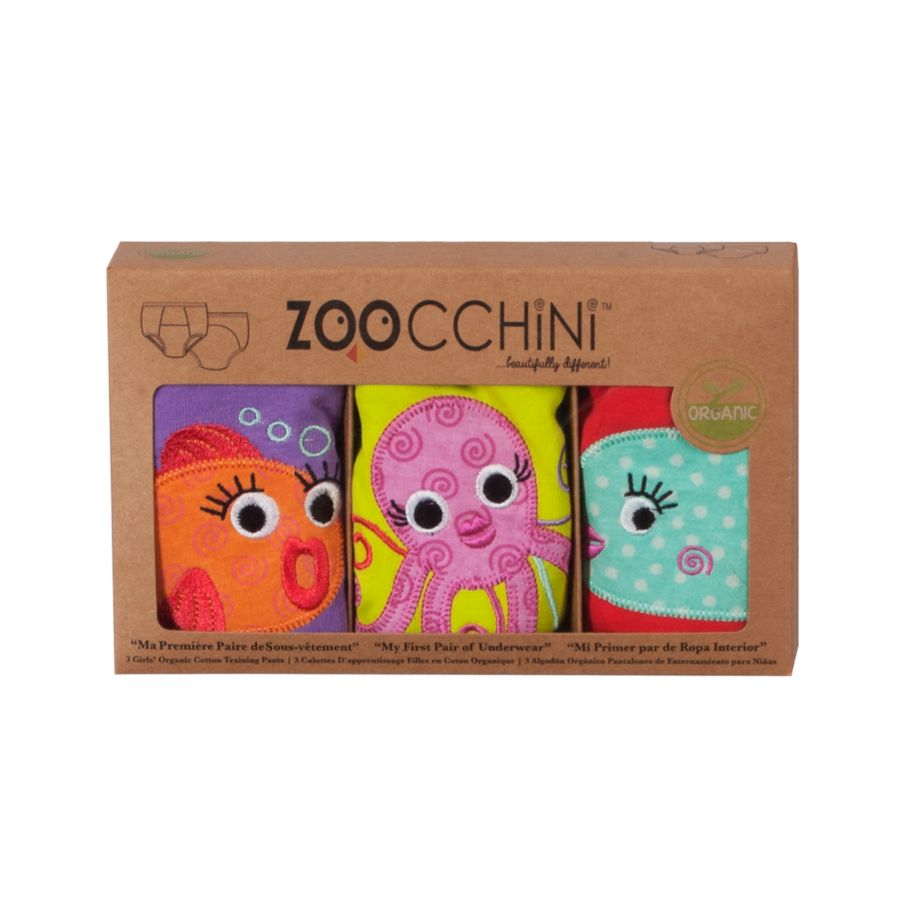 Zoocchini 3 Piece Organic Training Pants Set