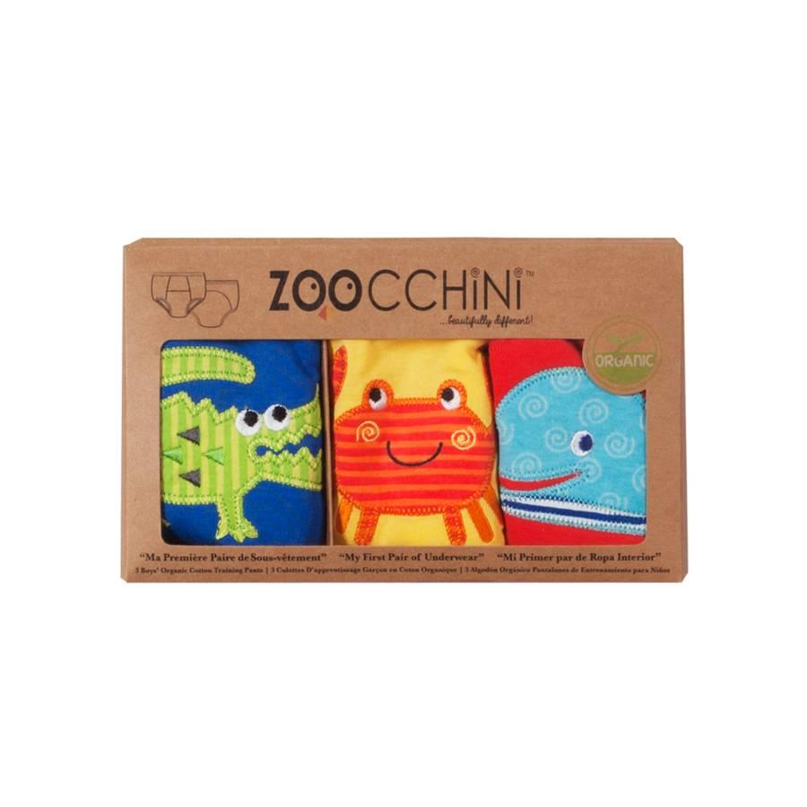 Zoocchini Zoocchini 3 Piece Organic Training Pants Set