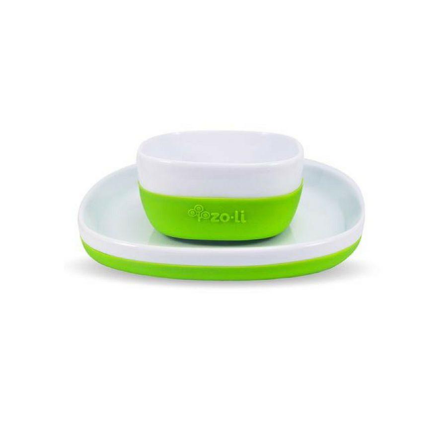 ZoLi Zoli Nosh Ceramic Bowl+Plate