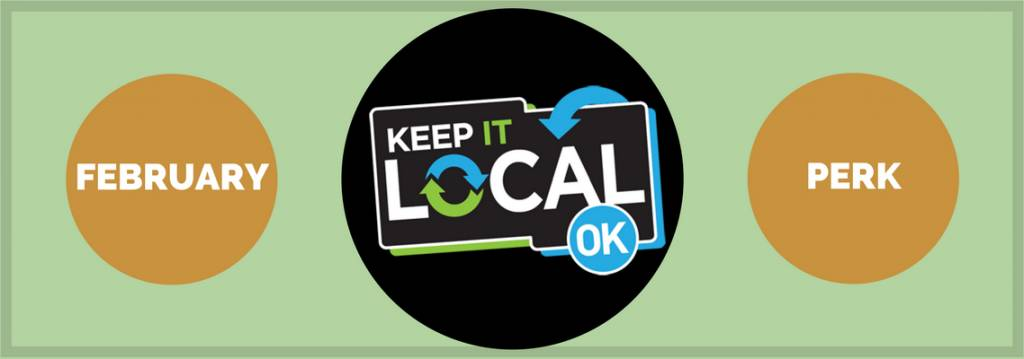 February Keep It Local perk