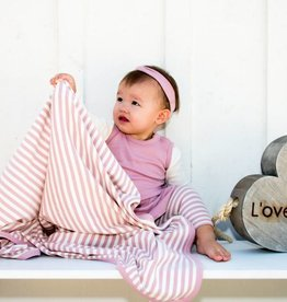 Loved Baby Organic Swaddling Blanket Striped