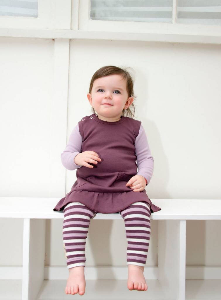 Loved Baby L'oved Baby Organic Leggings Striped