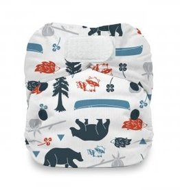 Thirsties Thirsties Natural Newborn AIO Hook & Loop Prints