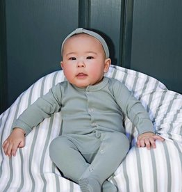 Loved Baby Organic Footed Overall Solid