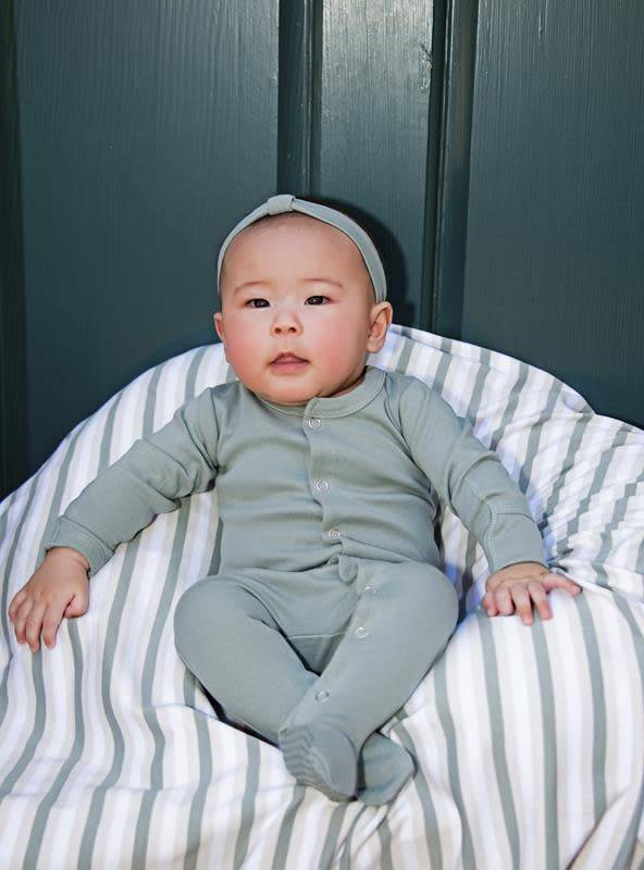 Loved Baby L'oved Baby Organic Footed Overall Solid