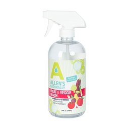 Allen's Naturally Fruit & Veggie Wash 25 oz