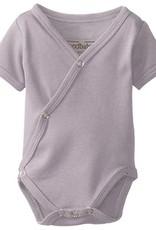 Loved Baby Organic Short-Sleeve Kimono Bodysuit Solid