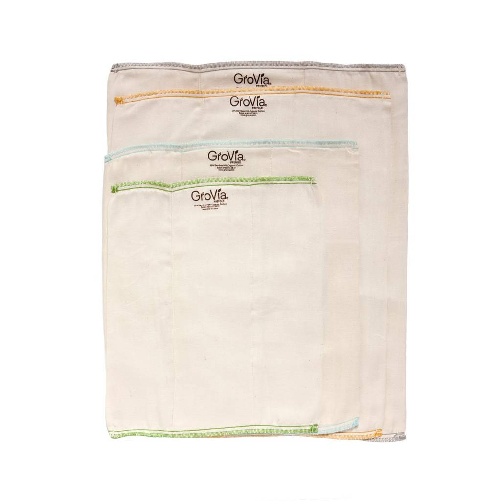 GroVia GroVia Bamboo/Cotton Prefolds