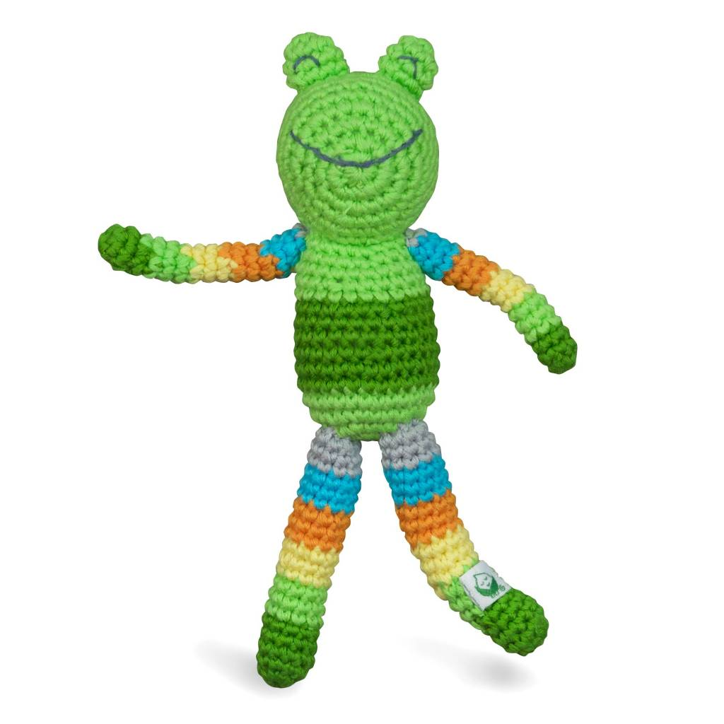 Green Sprouts Animal Friend Rattle