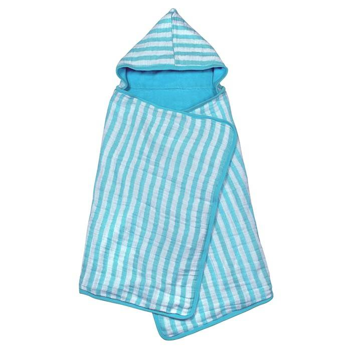 Green Sprouts Muslin Hooded Towel
