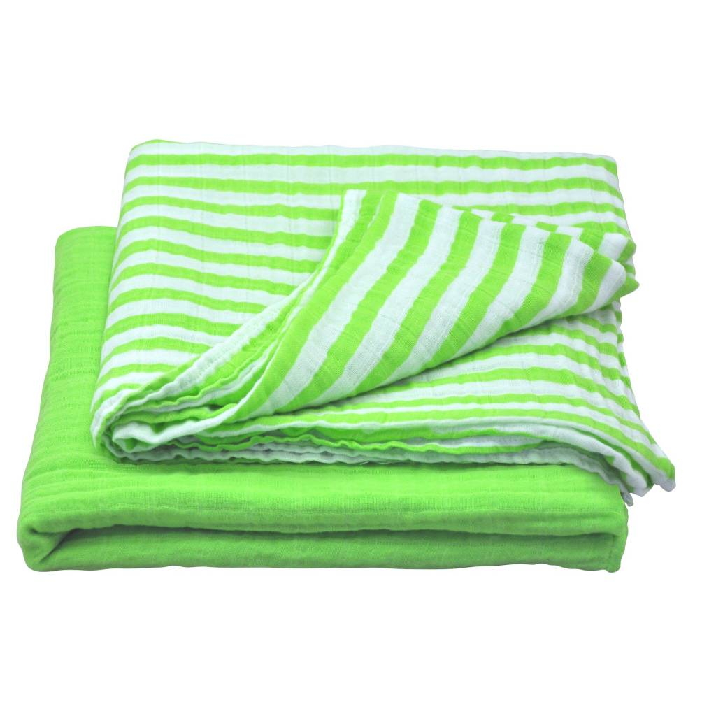 Green Sprouts Muslin Swaddle Blanket 2 pack