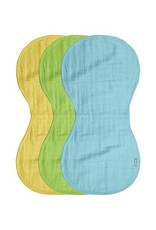Green Sprouts Burp Cloths Muslin 3 pack