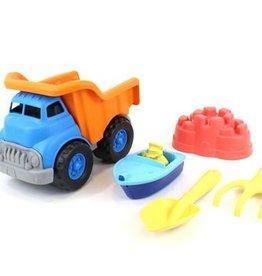 Green Toys Dump Truck w/Boat