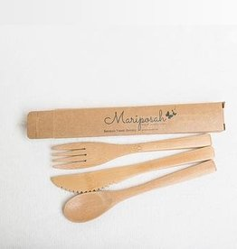 Travel Bamboo Utensil Set