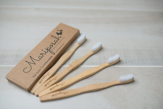 Bamboo Toothbrush- 4 pack