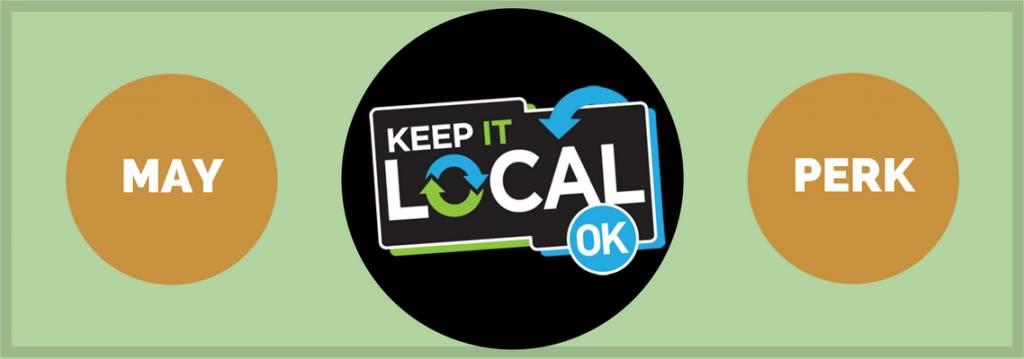 Perk Alert! Our May Keep It Local perk is here