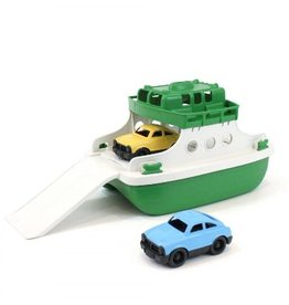 Green Toys Green Toys Ferry Boat Green/White w/ Mini Cars