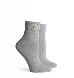 Llama Wearing Socks (Sasha Ankle)