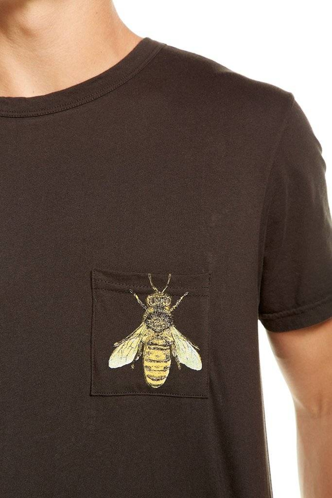 Chaser Garden Bee Pocket Tee