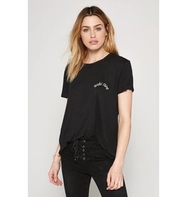 Amuse Society Wild Thing Embroidered Top