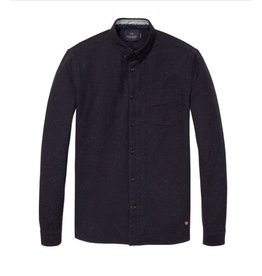 Scotch & Soda Nepped Cotton Shirt