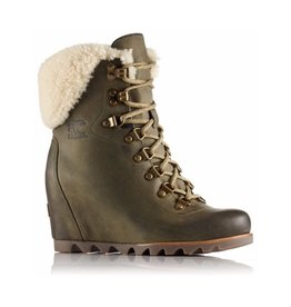 Sorel Conquest Wedge Boot W/ Shearling