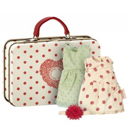 Maileg Big Sister Suitcase with Two Dresses
