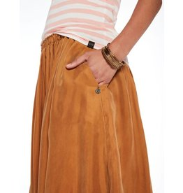 Scotch & Soda Goldspun Cupro Midi Skirt