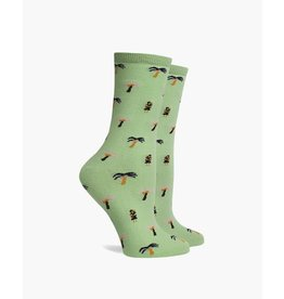 Richer Poorer Isla Hula Palm Womens Socks