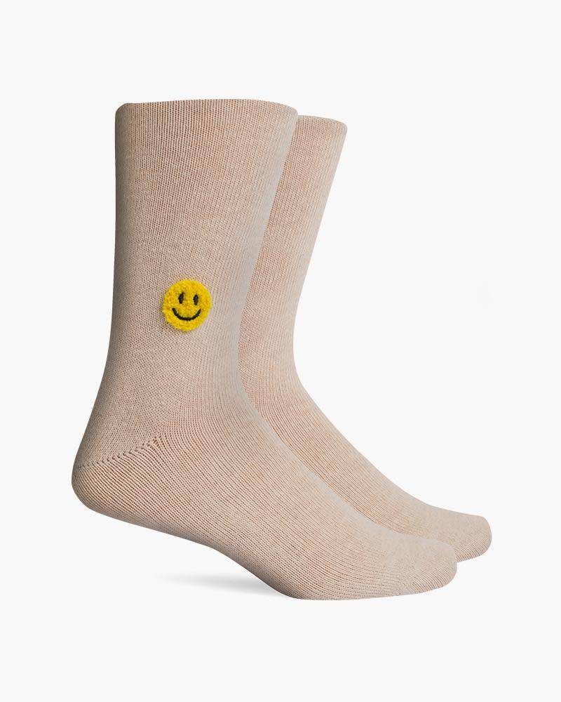 Richer Poorer Lucky Smile Mens Socks