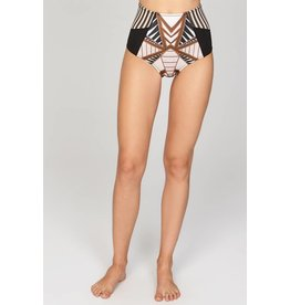 Amuse Society St. Tropez High Waist Swim Bottom
