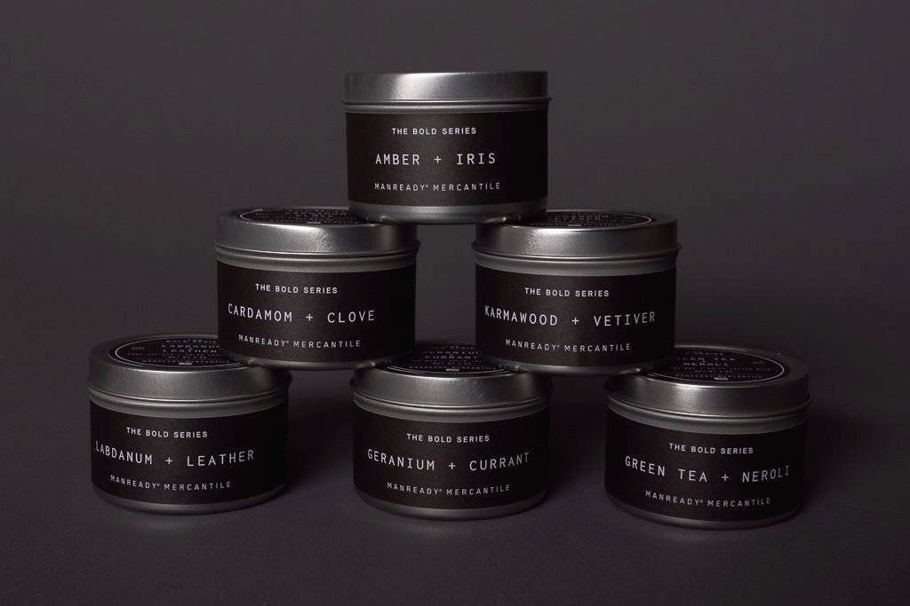 Manready Mercantile The Bold Series Travel Candle