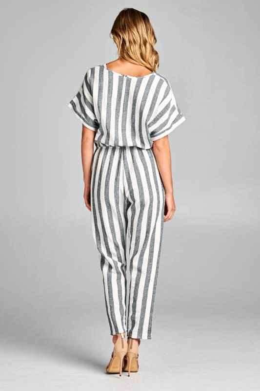 Tea N Rose Farm to Market Jumpsuit