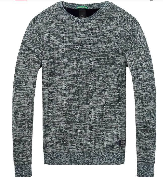Scotch & Soda Fresh Crewneck Knit Sweatshirt