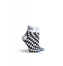 """Richer Poorer Drive Embroidered """"BYE"""" Ankle Sock"""
