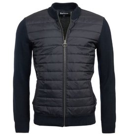 Barbour Carn Baffle Zip Up Knit Jacket
