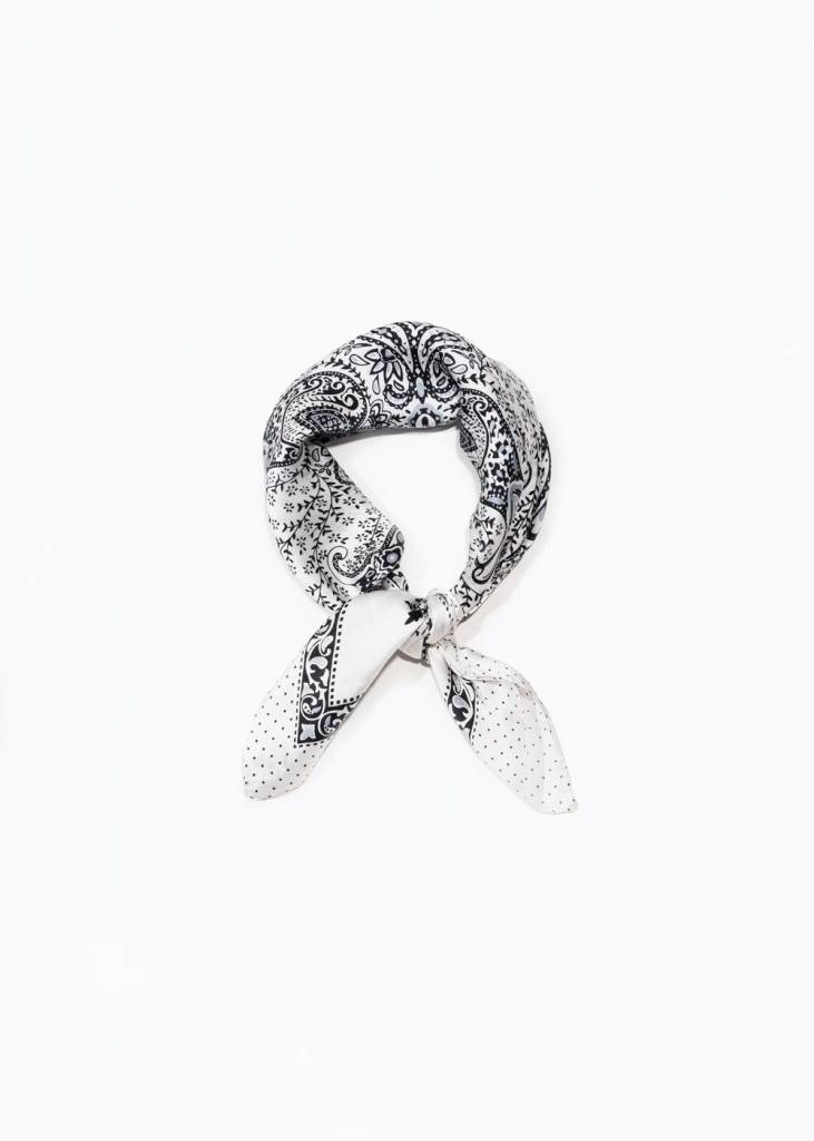 Look By M Bell Silk Scarf