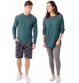 Alternative Apparel Kick Back Vintage Heavy Knit Pullover