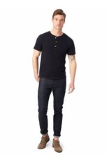 Alternative Apparel Organic Short Sleeve Henley Shirt