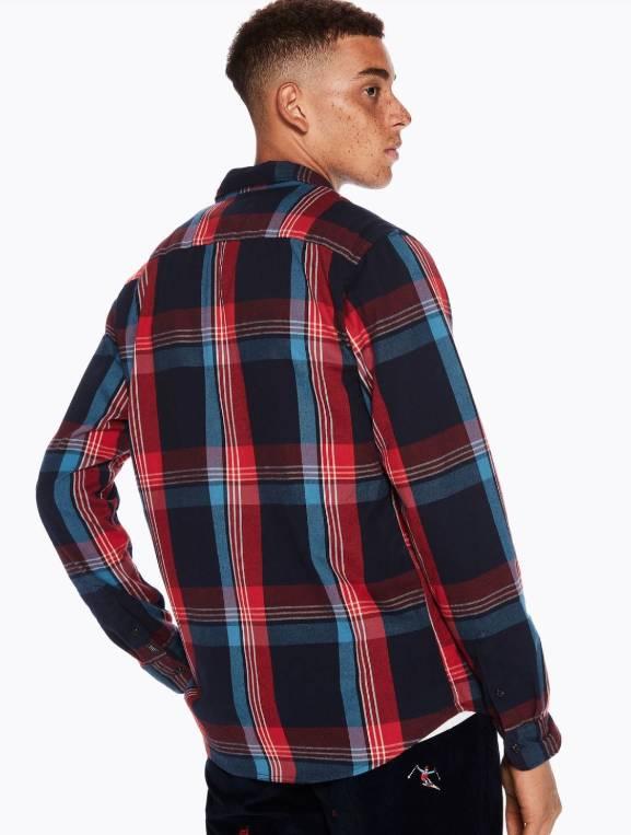 Scotch & Soda Have a Nice Day Flannel Shirt