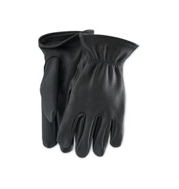 Redwing Heritage Redwing Black Buckskin Leather- Lined Glove