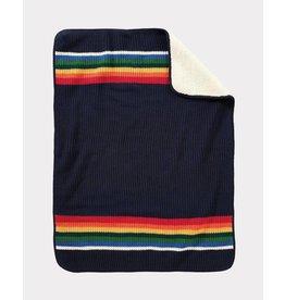 Pendleton Sherpa Baby Stroller Blanket