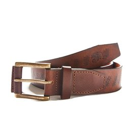 The Normal Brand Etched Leather Belt