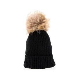 DNMC Kids Pom Knit Hat